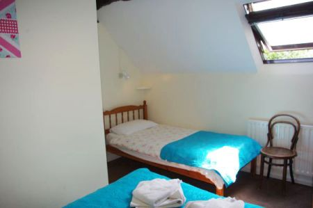 Granary bedroom 1, Tythe Barn House, Bed and Breakfast near Alton Towers