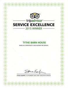 Tythe Barn House near to Alton Towers, Trip Advisor Excellence Award Winner 2015